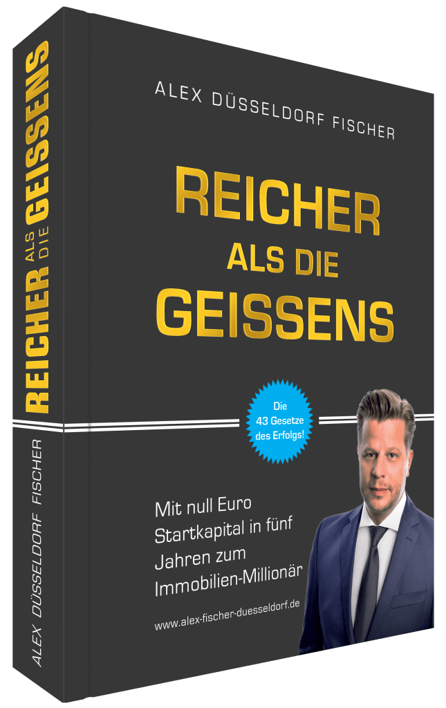 """Mein Buch """"Reicher als die Geissens"""" als Geschenk"""