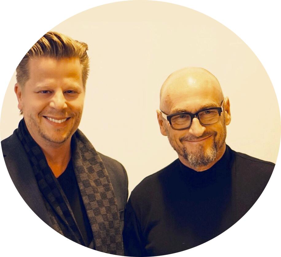 Alex Fischer mit Jochen Schweizer