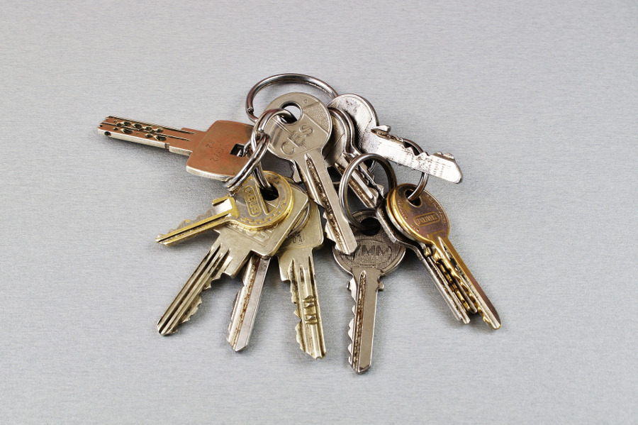 Schlüsselübergabe - Titelbild