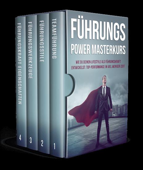 Führungspower Masterkurs Cover