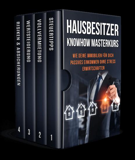 Hausbesitzer Knowhow Masterkurs Cover by Alex Düsseldorf Fischer (AF Media eG)