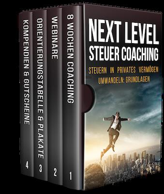 Next Level Steuer Coaching by Alex Düsseldorf Fischer (AF Media eG)