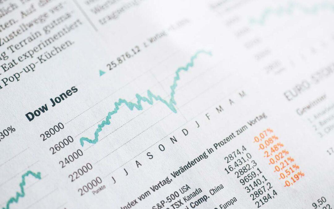 Dow Jones: Kurs, Kursliste & Einzelunternehmen + Realtime Chart